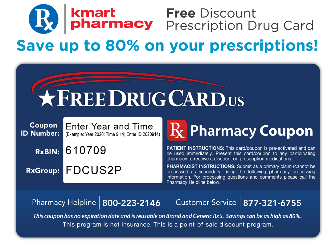 I have an Rx prescription card, and I take add medicine that usually runs me $, and I received my Rx card in the mail, used it at Walmart wasn't expecting it to take a few dollars off the price went from $ dollars to , very pleased with the discount now I use it all the time, I am very pleased with the discount.