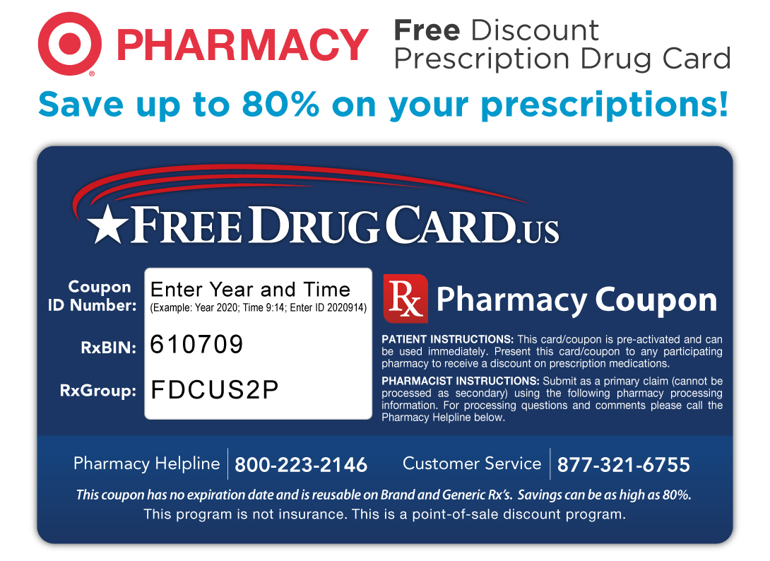 Prescription discount coupons