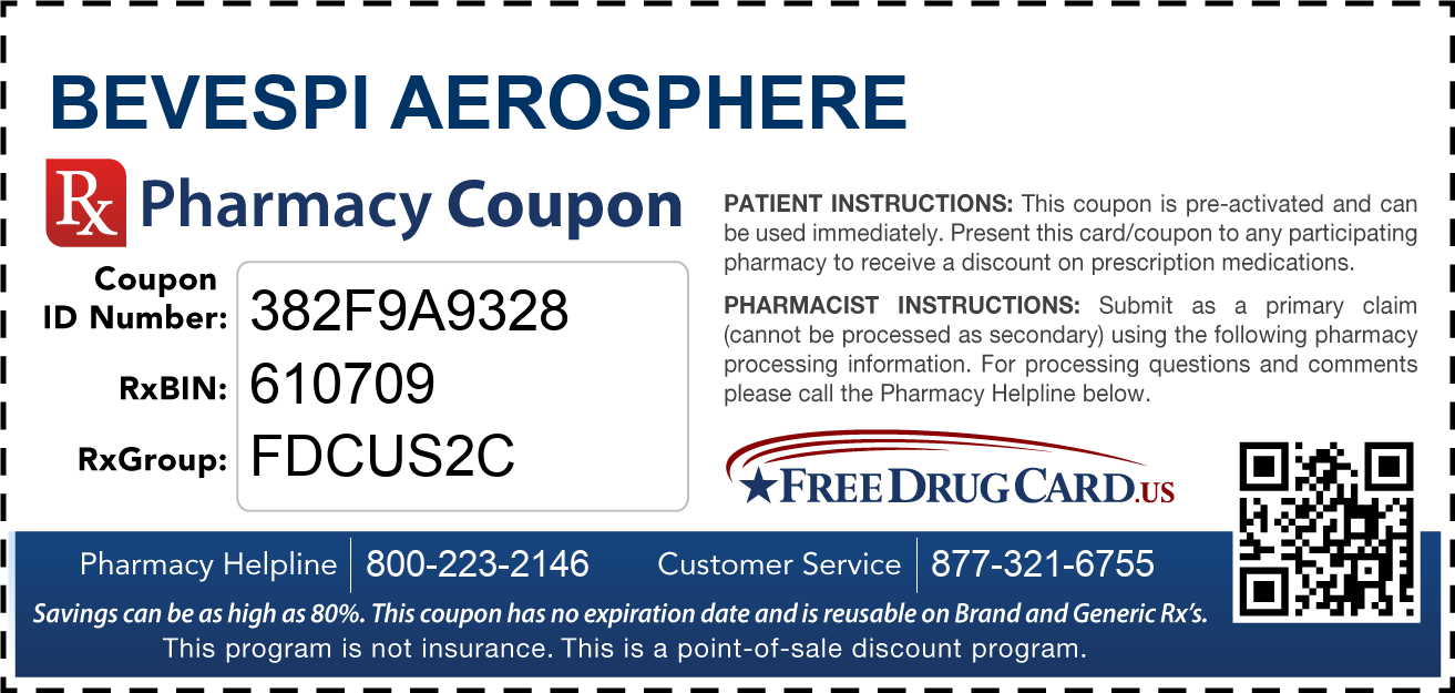 Discount Bevespi Aerosphere Pharmacy Drug Coupon