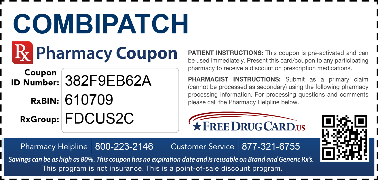 Discount Combipatch Pharmacy Drug Coupon