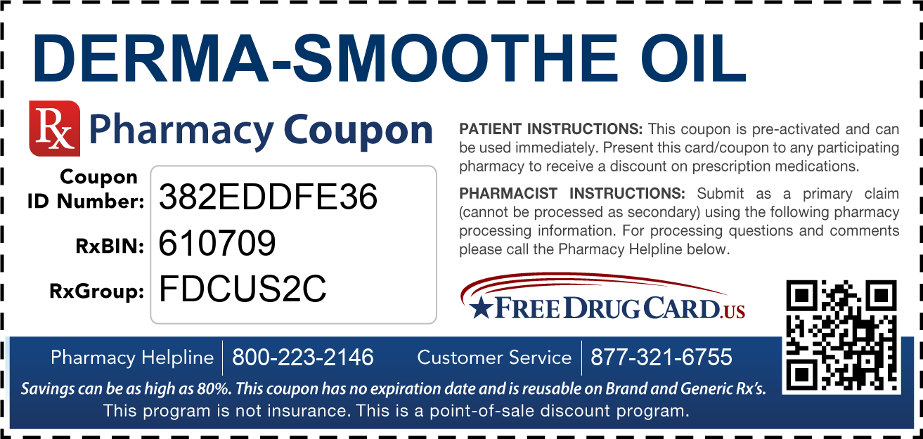 Discount Derma-Smoothe Oil Pharmacy Drug Coupon