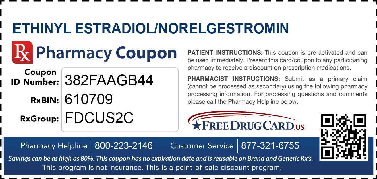 Discount Ethinyl Estradiol/Norelgestromin Pharmacy Drug Coupon