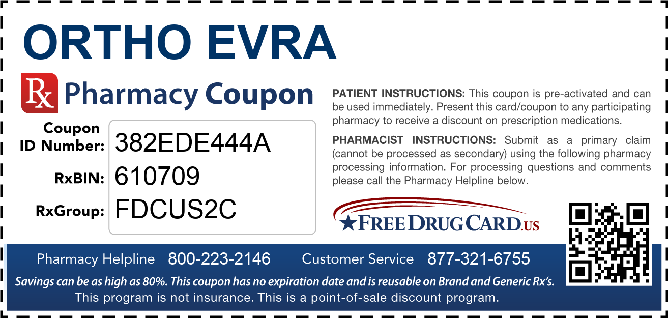 Discount Ortho Evra Pharmacy Drug Coupon