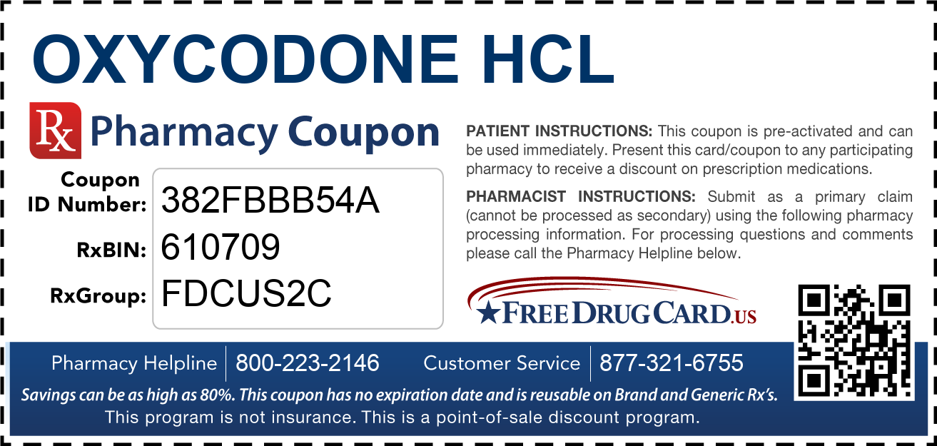 Oxycodone consumer information from.