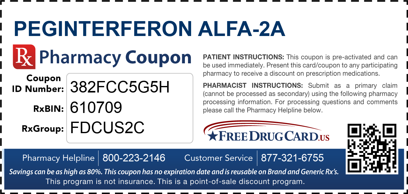 Discount Peginterferon Alfa-2a Pharmacy Drug Coupon