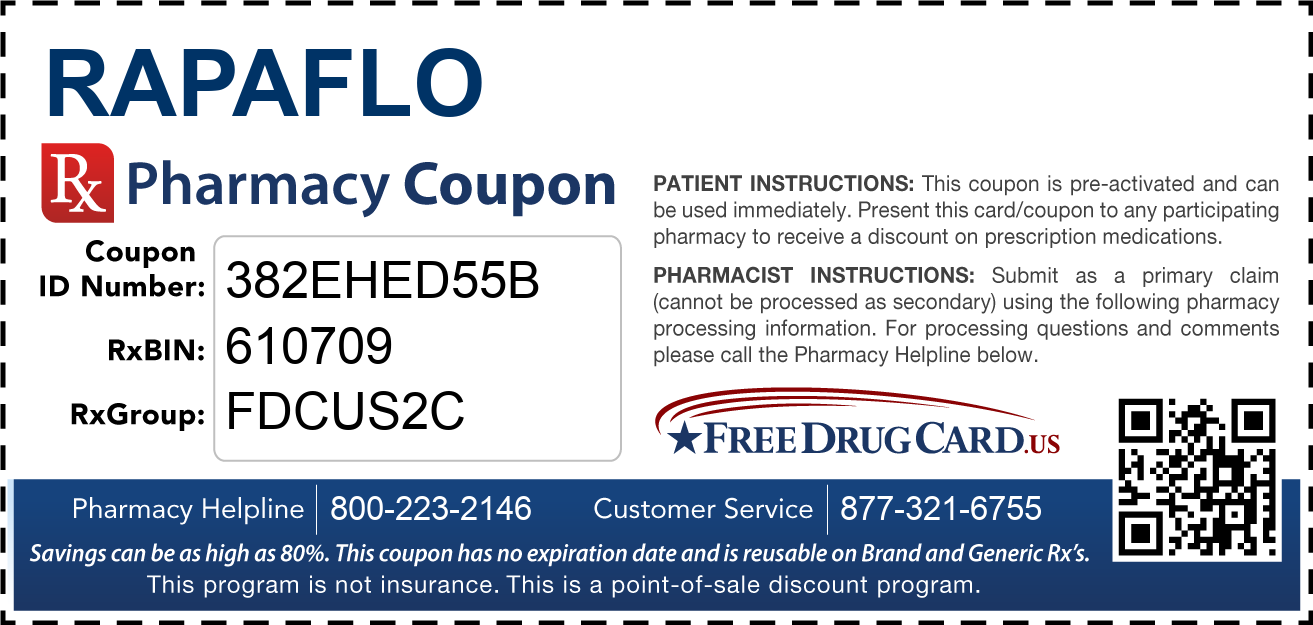 Discount Rapaflo Pharmacy Drug Coupon