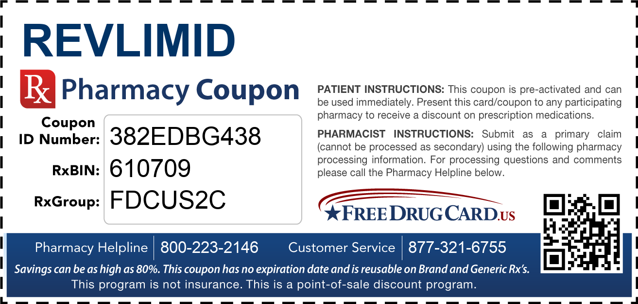 Discount Revlimid Pharmacy Drug Coupon