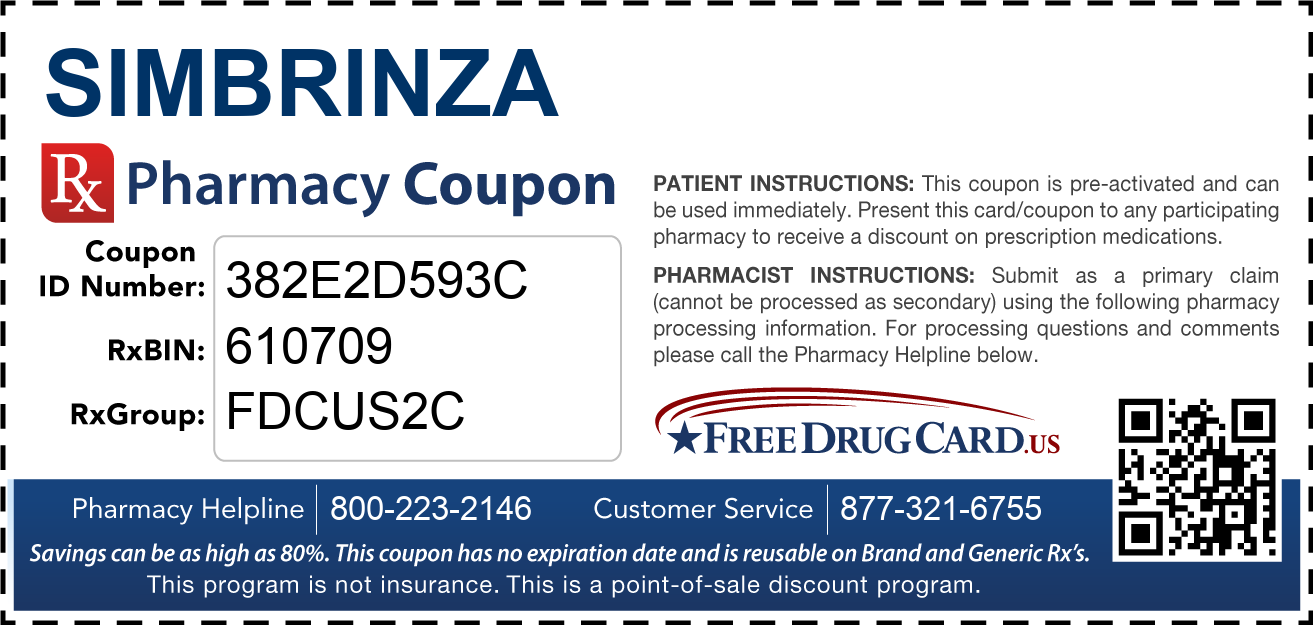 Discount Simbrinza Pharmacy Drug Coupon