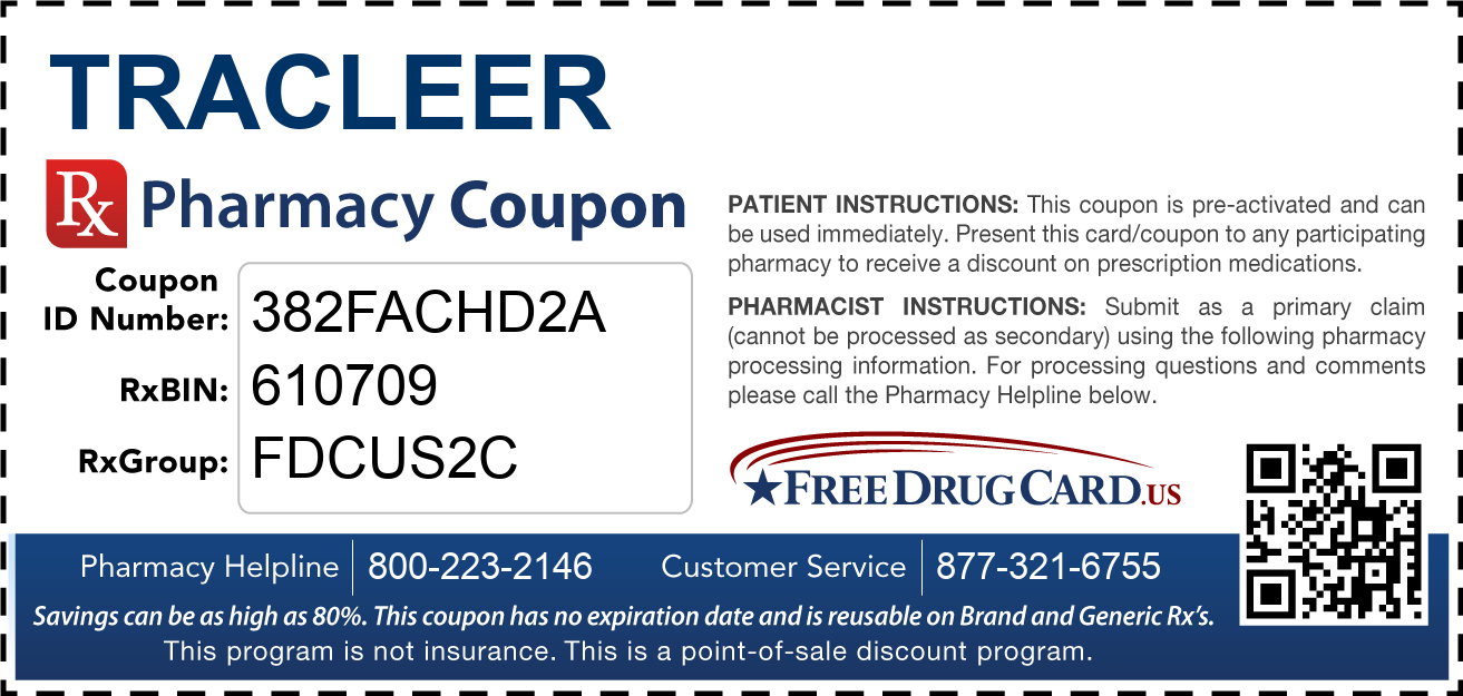 Discount Tracleer Pharmacy Drug Coupon