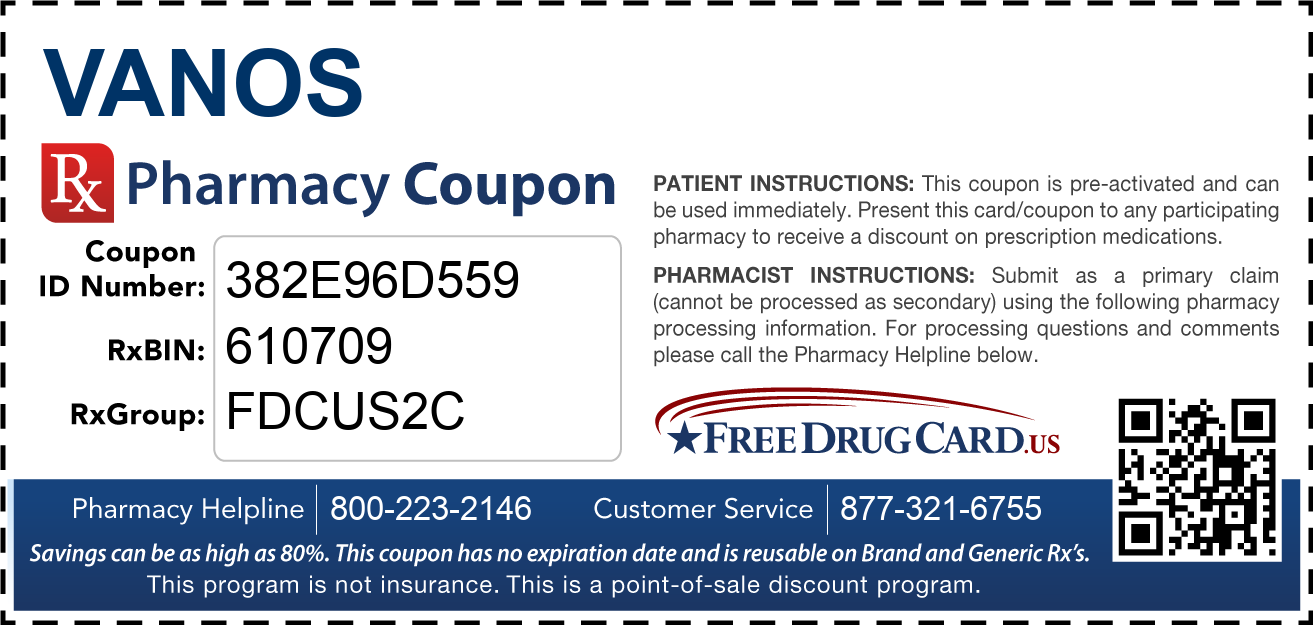 Discount Vanos Pharmacy Drug Coupon