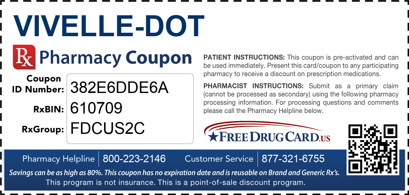 Discount Vivelle-DOT Pharmacy Drug Coupon
