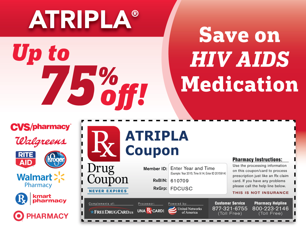 Atripla Coupon for Prescription Discounts