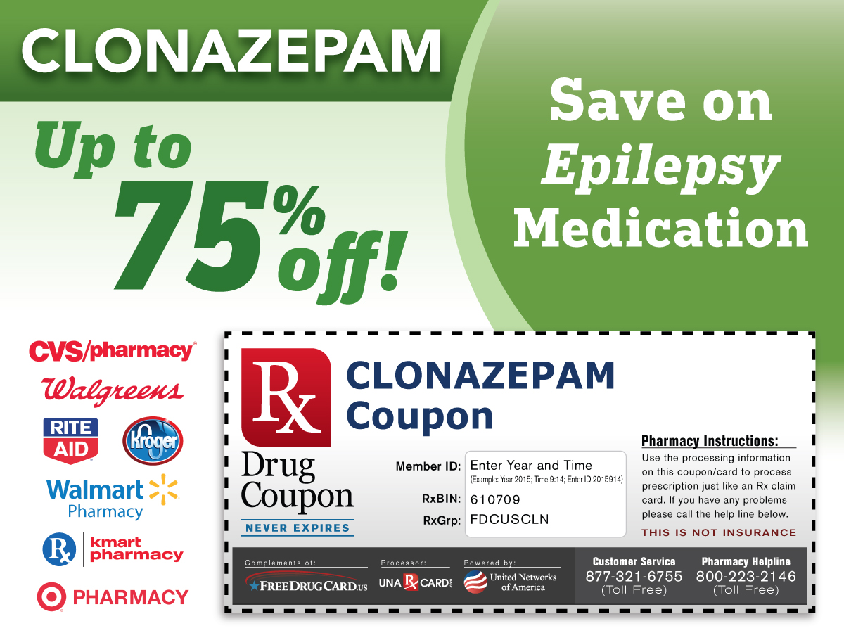 Clonazepam Coupon for Prescription Discounts