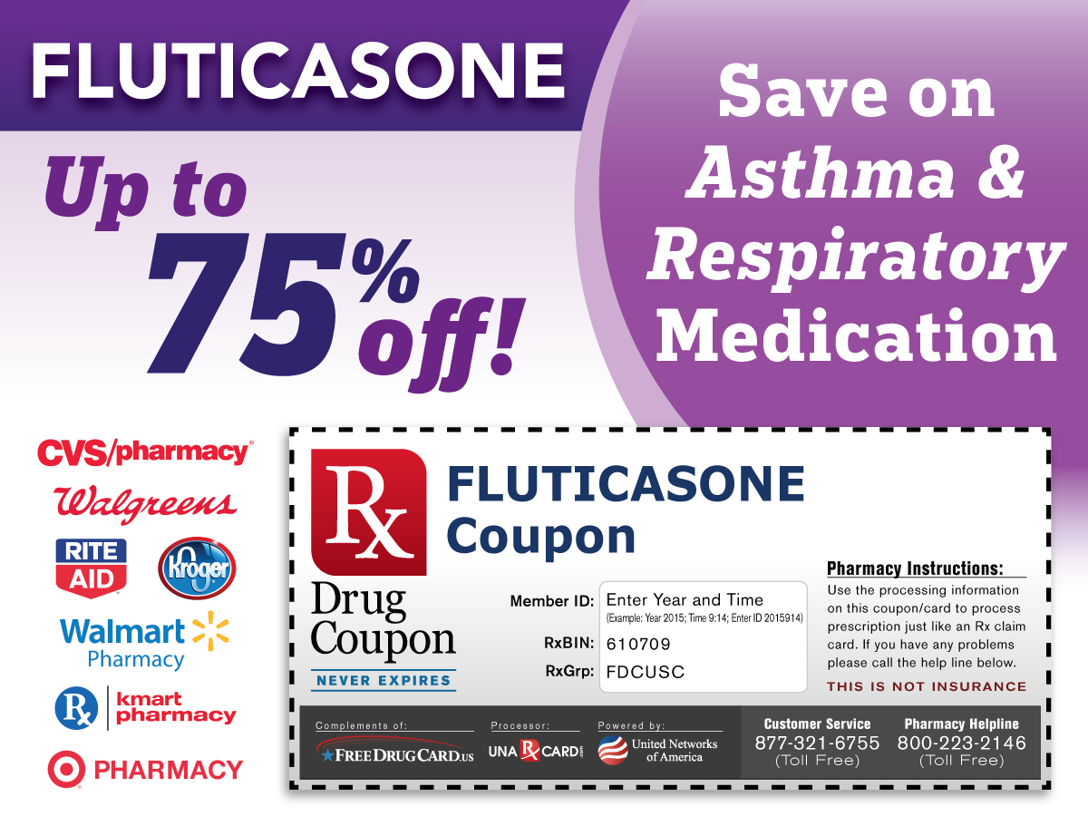 Fluticasone Propionate Coupon for Prescription