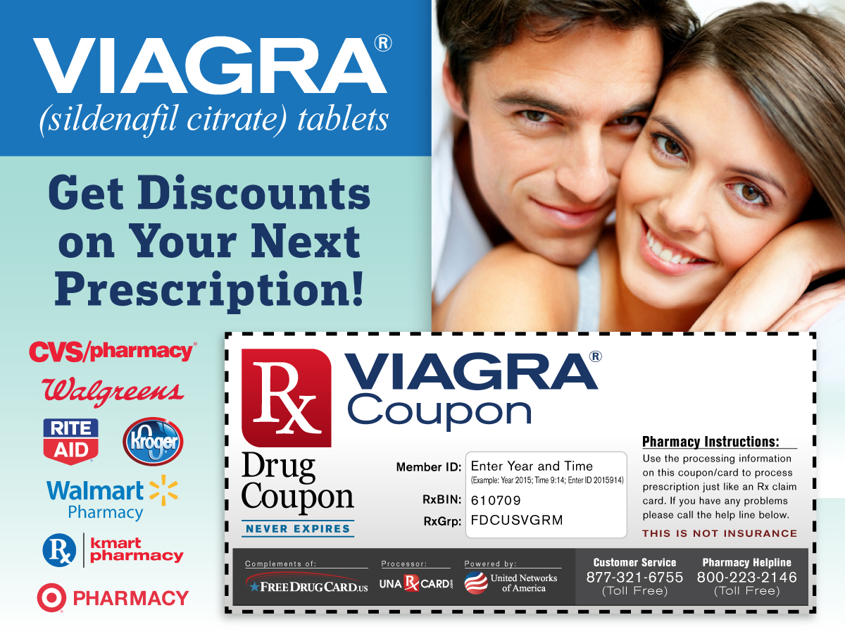 Viagra coupons and discounts
